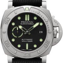 Panerai PAM 00984 Titanium 2021 Luminor Submersible 47mm new