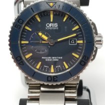 Oris pre-owned Automatic Blue