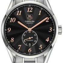 TAG Heuer Carrera Calibre 6 Steel 39mm Black Arabic numerals United States of America, Florida, Sarasota