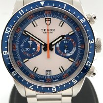 Tudor Heritage Chrono Blue Steel 42mm Blue Arabic numerals United States of America, New York, New York
