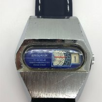 Grovana Steel 38mm Manual winding pre-owned