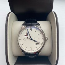 Glashütte Original Senator Excellence Steel 40mm Silver Roman numerals United Kingdom, Leeds