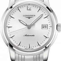 Longines Saint-Imier Steel 41mm Silver No numerals United States of America, New York, New York