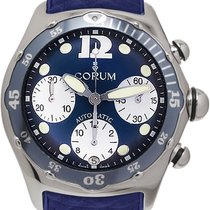 Corum Bubble Acero 45mm Azul España, Madrid