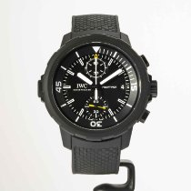 IWC Steel Automatic Black No numerals 44mm new Aquatimer Chronograph
