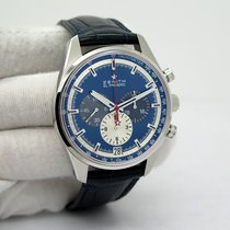 Zenith El Primero 36'000 VpH Steel 42mm Blue No numerals United States of America, Florida, Orlando