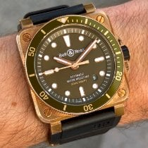 Bell & Ross BR 03 Bronze 42mm Green No numerals United States of America, Wisconsin, La Crosse