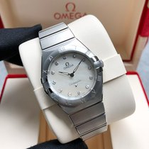 Omega 131.10.28.60.55.001 Сталь Constellation Quartz 28mm новые