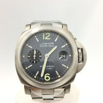 Panerai Luminor Marina Automatic Titanium 44mm Grey Arabic numerals