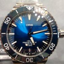 Oris Steel Automatic 400 7763 4135-07 8 24 09PEB new