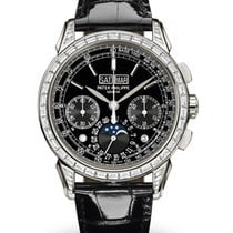 Patek Philippe Perpetual Calendar Chronograph Platinum 41mm Black No numerals United States of America, New York, New York