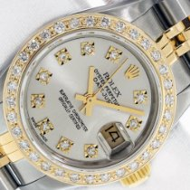 Rolex Lady-Datejust Gold/Steel 26mm Silver No numerals United States of America, California, Los Angeles