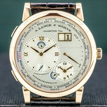 A. Lange & Söhne Lange 1 Rose gold Silver United States of America, Massachusetts, Boston