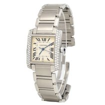 Cartier Tank Française 2302 Very good Steel 28mm Automatic United States of America, Florida, Miami