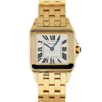 Cartier Santos Demoiselle Yellow gold 26mm Silver United States of America, Maryland, Baltimore, MD