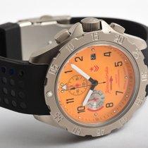 Vostok Titanium 42mm Orange Arabic numerals