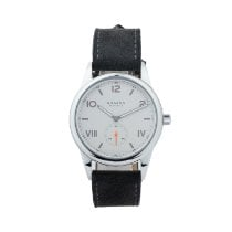 NOMOS Club Campus Steel White Arabic numerals United States of America, Georgia, ATLANTA