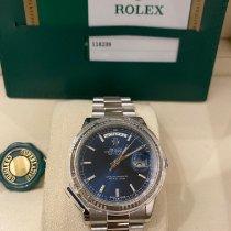 Rolex Day-Date 36 Белое золото 36mm Синий Россия, Moscow