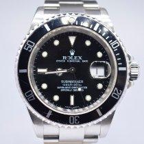 Rolex Submariner Date Steel 40mm Black No numerals United Kingdom, London Colney Hertfordshire