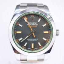 Rolex Milgauss Steel 40mm Black No numerals United Kingdom, London Colney Hertfordshire
