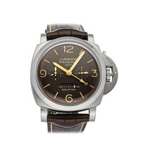 Panerai Luminor 1950 8 Days GMT Titanium 47mm Brown United States of America, Pennsylvania, Bala Cynwyd