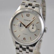 Montblanc Heritage Chronométrie Steel 40mm Silver Arabic numerals