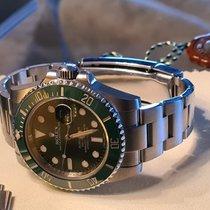 Rolex Submariner Date Acero 40mm Verde Sin cifras España, lleida