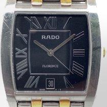 Rado Florence Steel 34mm Black Roman numerals