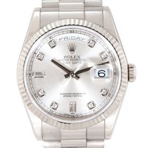 Rolex 118239 Or blanc 2012 Day-Date 36 36mm occasion