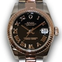Rolex Lady-Datejust Oro rosa 31mm Negro España, Madrid
