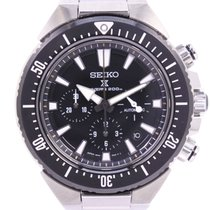 Seiko pre-owned Automatic 45mm Black
