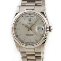 Rolex 118239 Or blanc Day-Date 36 occasion