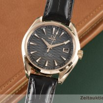 Omega Or rouge Remontage automatique Gris 41.5mm occasion Seamaster Aqua Terra