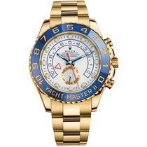 Rolex Yacht-Master II Yellow gold 44mm White No numerals United Kingdom, London