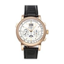 A. Lange & Söhne Datograph Rose gold 41mm Silver No numerals United States of America, Pennsylvania, Bala Cynwyd