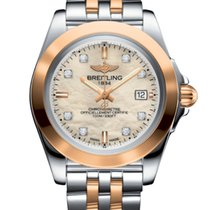 Breitling Galactic 32 Gold/Steel 32mm Mother of pearl No numerals United States of America, New Jersey, Princeton