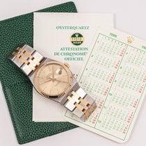 Rolex Datejust Oysterquartz Gold/Steel 36mm Champagne No numerals United States of America, Oklahoma, Oklahoma City