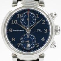 IWC Da Vinci Chronograph IW393402 Très bon Acier 42mm Remontage automatique
