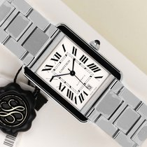 Cartier Tank Solo Stahl 31mm Silber