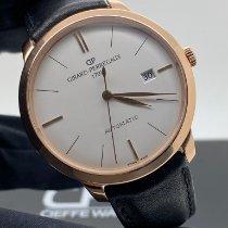 Girard Perregaux 1966 Or rose 40mm Argent Sans chiffres