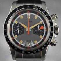 Tudor Montecarlo Steel 39.5mm Grey Arabic numerals