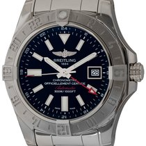Breitling Avenger II GMT Steel 43mm Black United States of America, Texas, Austin