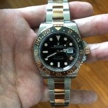 Rolex GMT-Master II Gold/Steel 40mm Black No numerals Singapore, Singapore