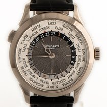 Patek Philippe World Time 5230G-001 Very good White gold 38.5mm Automatic
