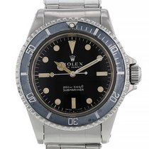 Rolex Submariner (No Date) Acier 40mm Noir Arabes France, Paris