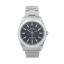 Rolex Oyster Perpetual 39 Steel 39mm Black No numerals United States of America, Georgia, ATLANTA