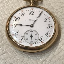 Illinois Watch pre-owned 1890 Yellow gold 46mm Arabic numerals Manual winding Watch only