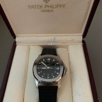 Patek Philippe Steel Automatic Black Arabic numerals 36mm pre-owned Aquanaut