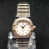 Omega Constellation Ladies Steel 24mm Mother of pearl