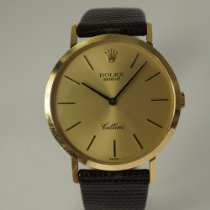 Rolex Cellini Yellow gold 32mm Gold No numerals United States of America, Texas, Houston